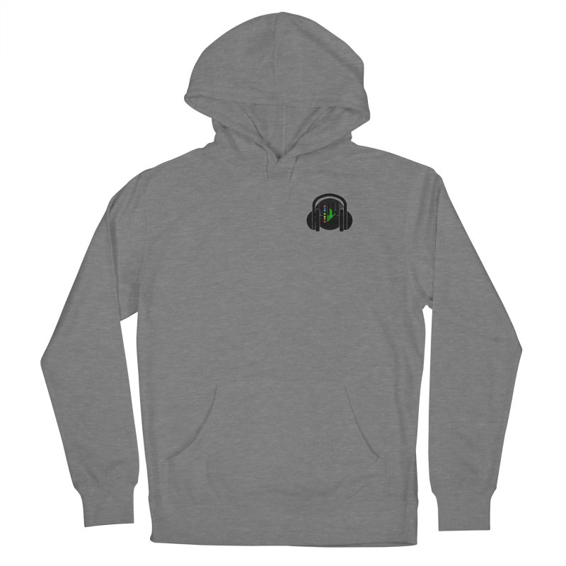 Stern Beats (Small Upper Left Corner) Women's Pullover Hoody by Vegetable Conspiracies