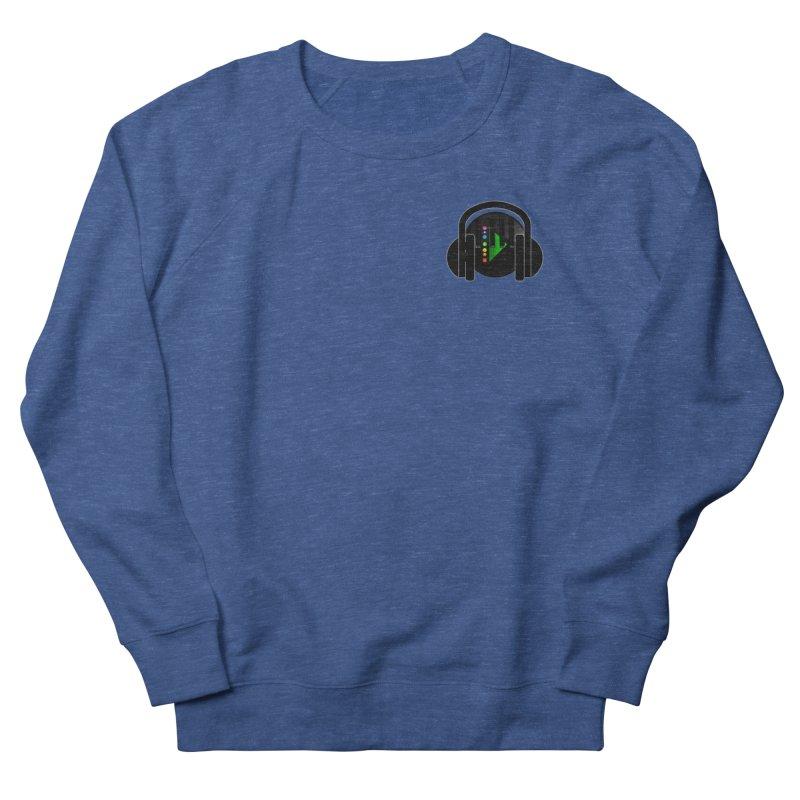 Stern Beats (Small Upper Left Corner) Men's Sweatshirt by Vegetable Conspiracies