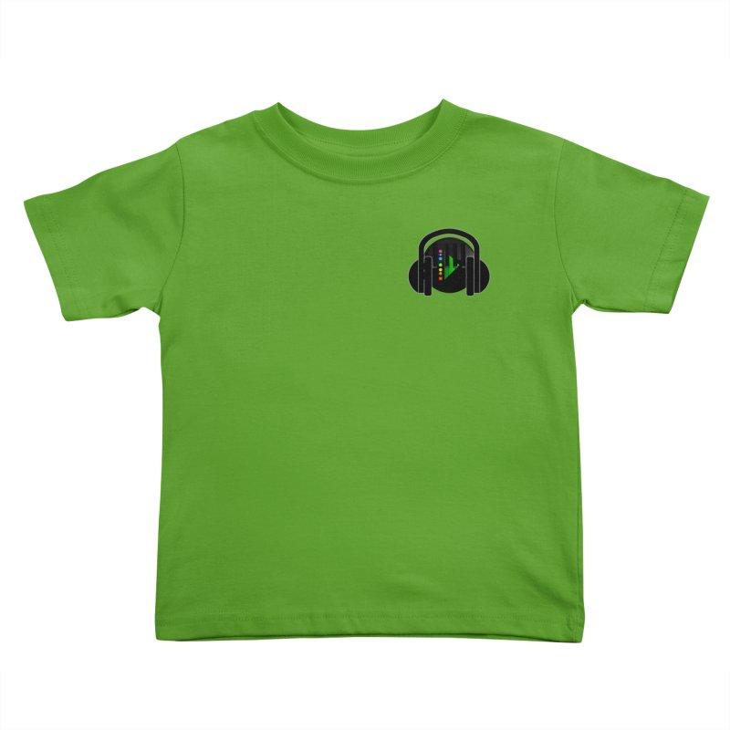 Stern Beats (Small Upper Left Corner) Kids Toddler T-Shirt by Vegetable Conspiracies