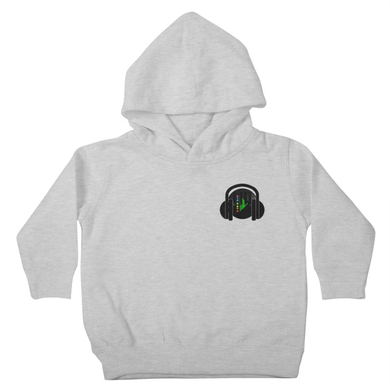 Stern Beats (Small Upper Left Corner) Kids Toddler Pullover Hoody by Vegetable Conspiracies