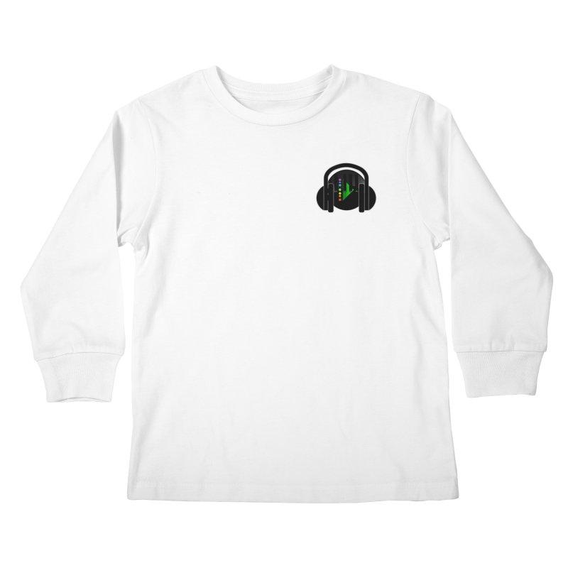 Stern Beats (Small Upper Left Corner) Kids Longsleeve T-Shirt by Vegetable Conspiracies