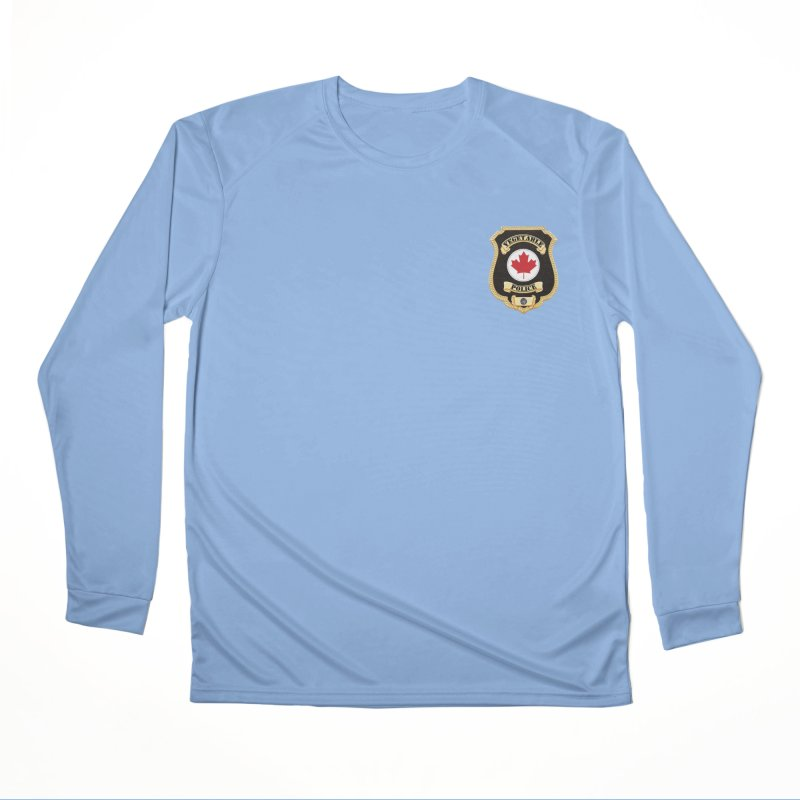 Vegetable Police Badge (New) Women's Longsleeve T-Shirt by Vegetable Conspiracies