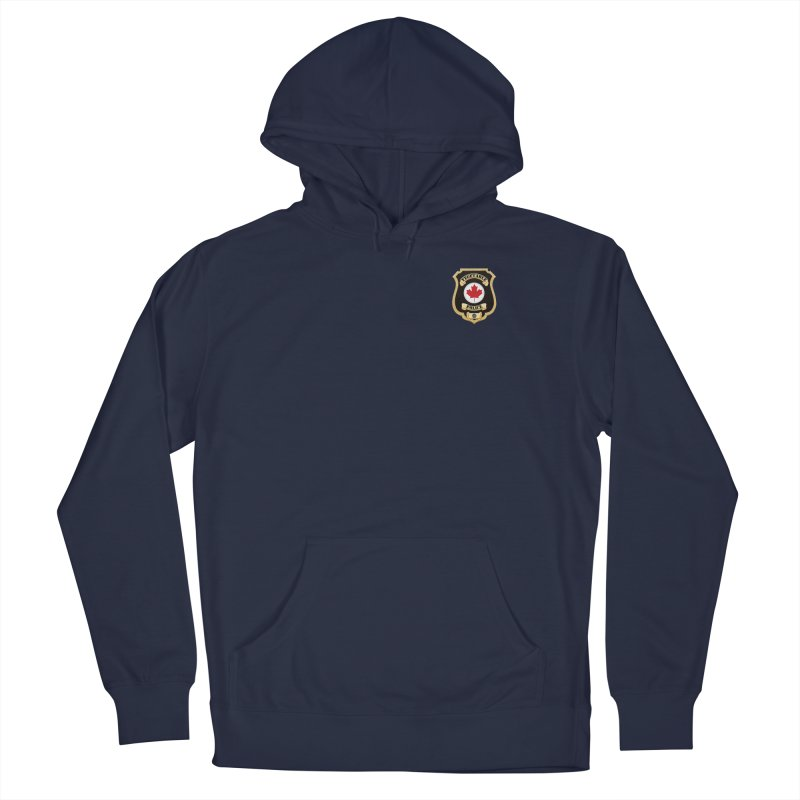 Vegetable Police Badge (New) Men's Pullover Hoody by Vegetable Conspiracies