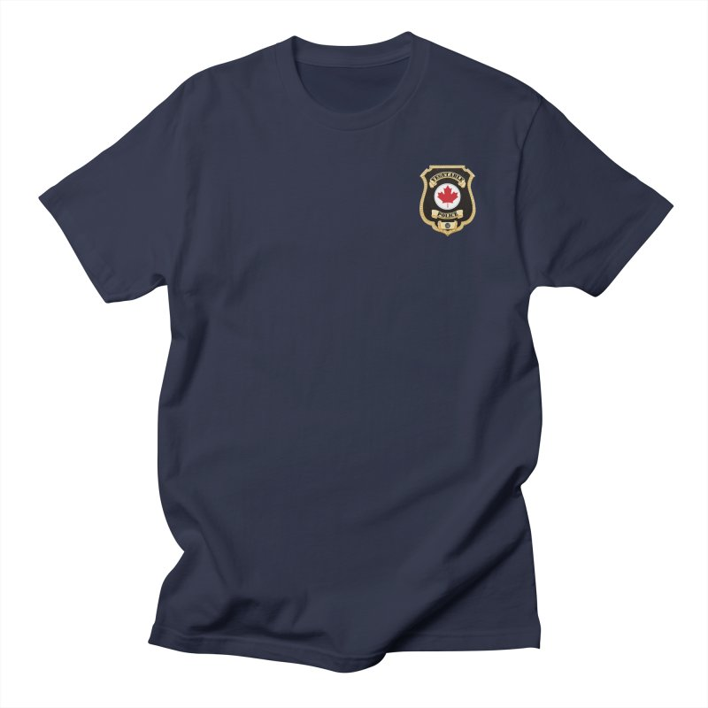 Vegetable Police Badge (New) Men's T-Shirt by Vegetable Conspiracies