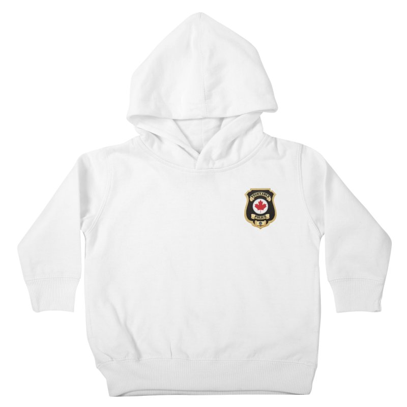 Vegetable Police Badge (New) Kids Toddler Pullover Hoody by Vegetable Conspiracies