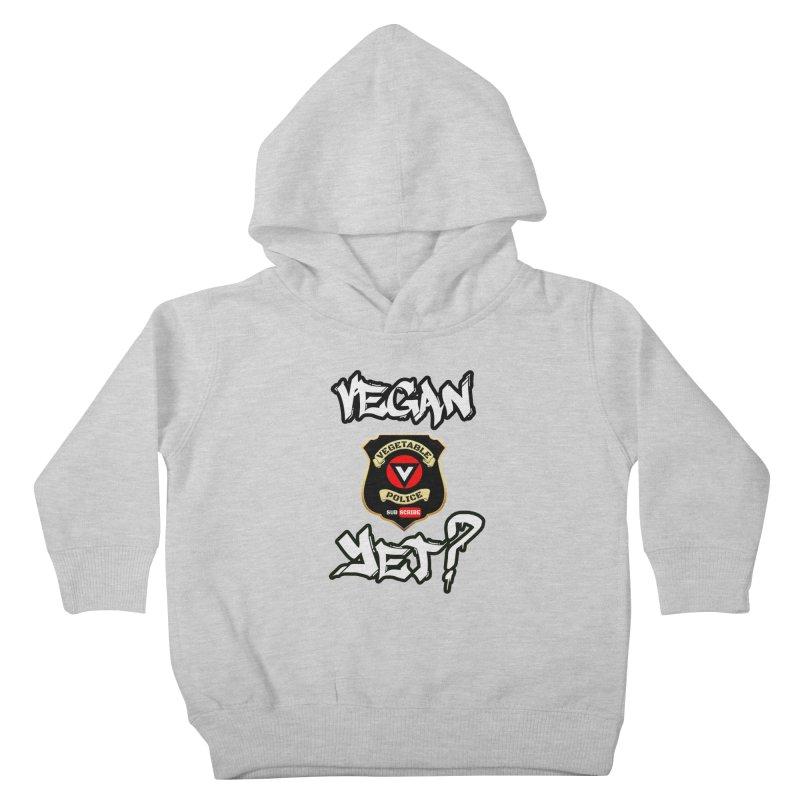 Vegan Yet? Kids Toddler Pullover Hoody by Vegetable Conspiracies