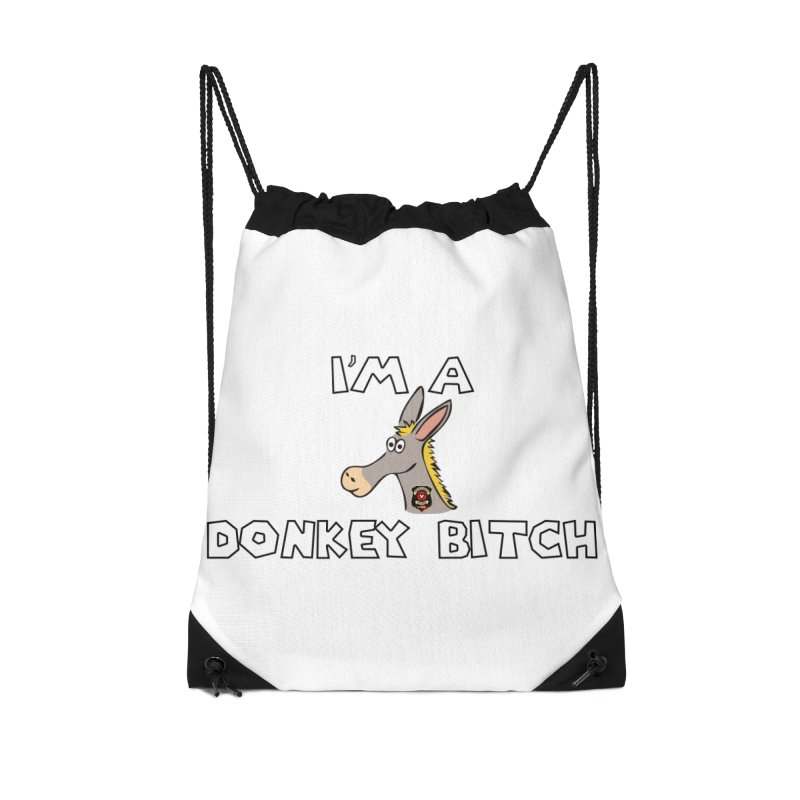 I'm A Donkey Bitch Accessories Bag by Vegetable Police