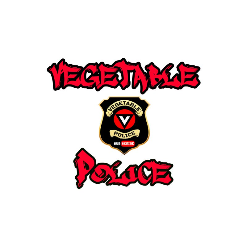 Vegetable Police Undercover (red) Accessories Button by Vegetable Police