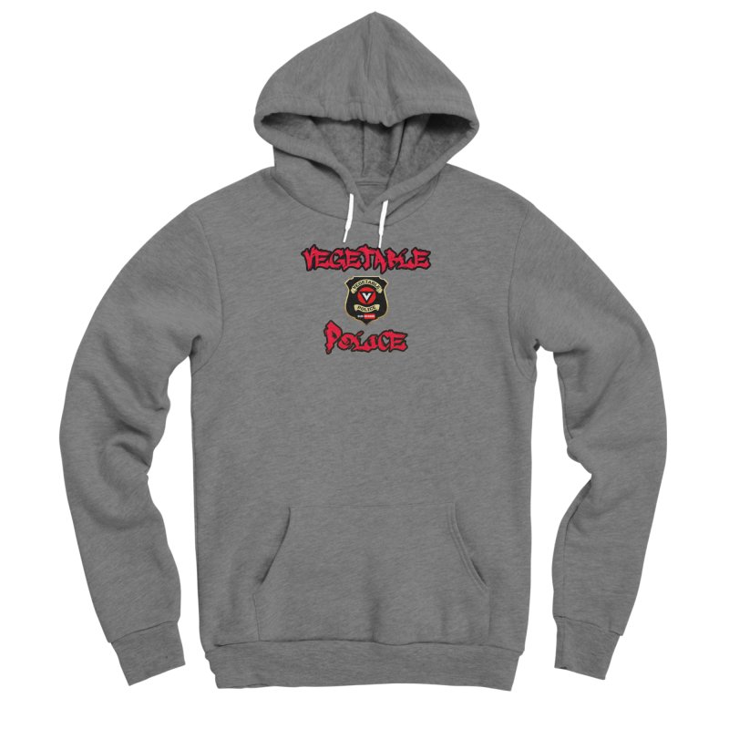 Vegetable Police Undercover (red) Men's Pullover Hoody by Vegetable Police