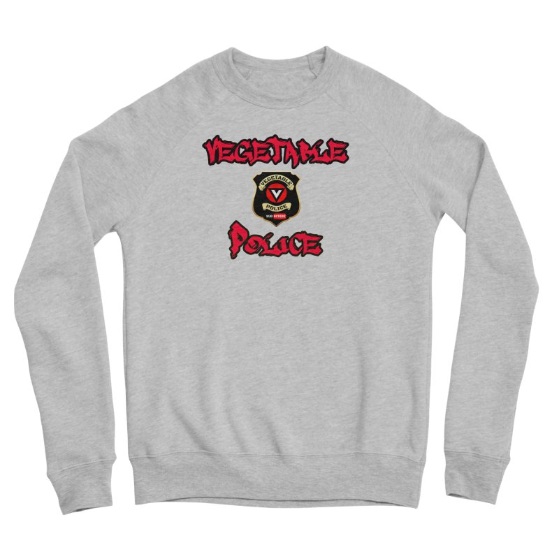 Vegetable Police Undercover (red) Men's Sweatshirt by Vegetable Police