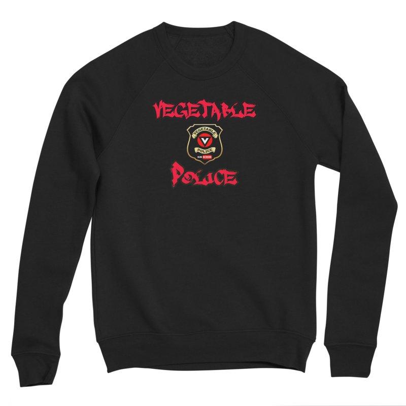 Vegetable Police Undercover (red) Women's Sponge Fleece Sweatshirt by Vegetable Police