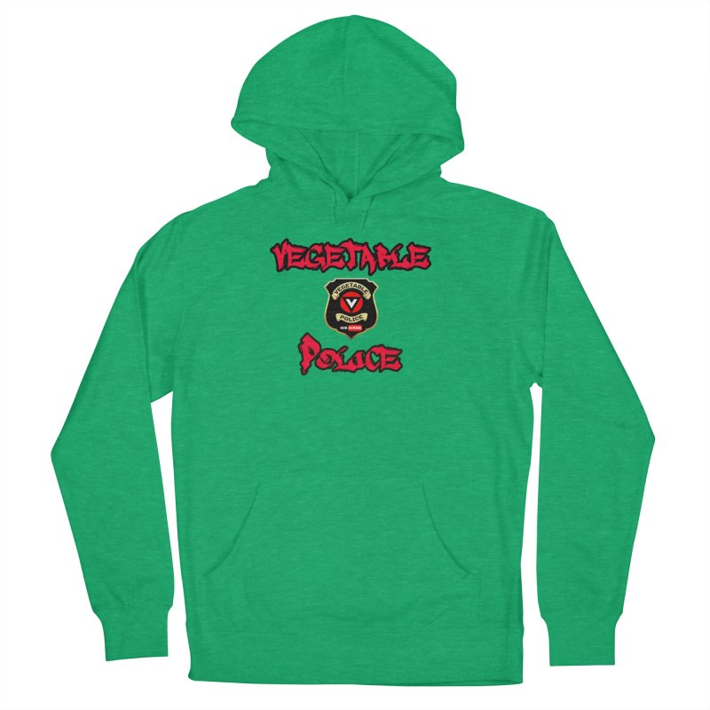 Vegetable Police Undercover (red) Women's Pullover Hoody by Vegetable Police