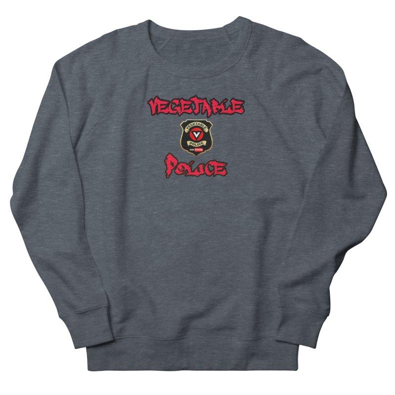 Vegetable Police Undercover (red) Men's Sweatshirt by Vegetable Police