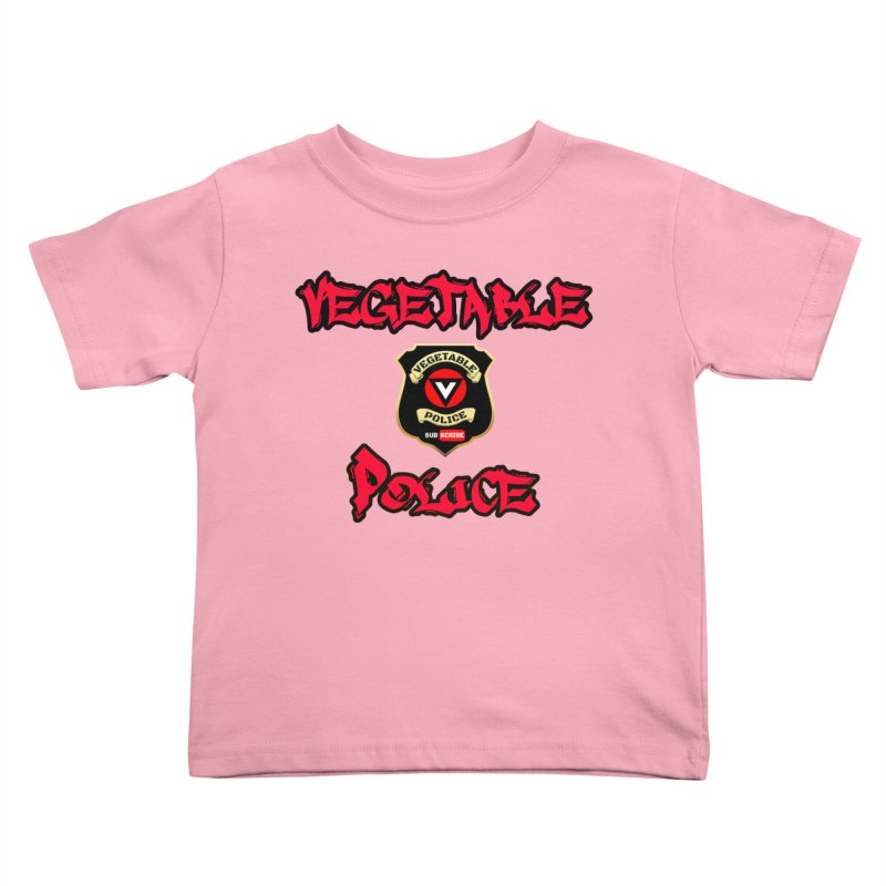 Vegetable Police Undercover (red) Kids Toddler T-Shirt by Vegetable Police