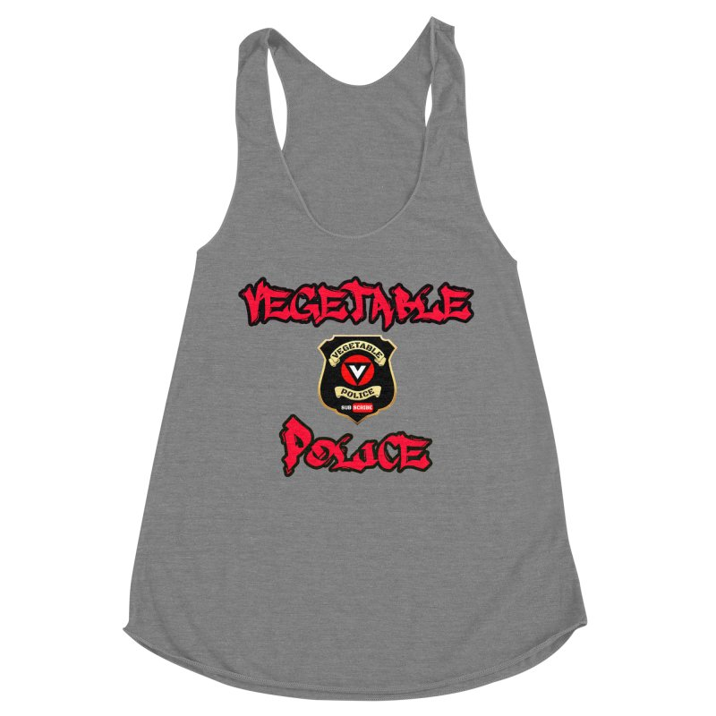 Vegetable Police Undercover (red) Women's Tank by Vegetable Police