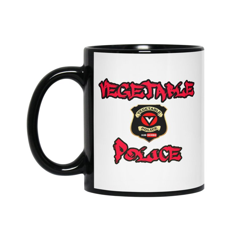 Vegetable Police Undercover (red) Accessories Mug by Vegetable Police