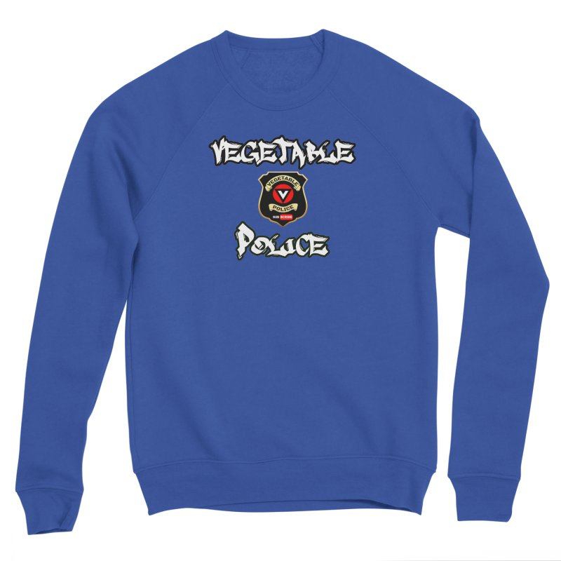 Vegetable Police Undercover (white) Men's Sweatshirt by Vegetable Police