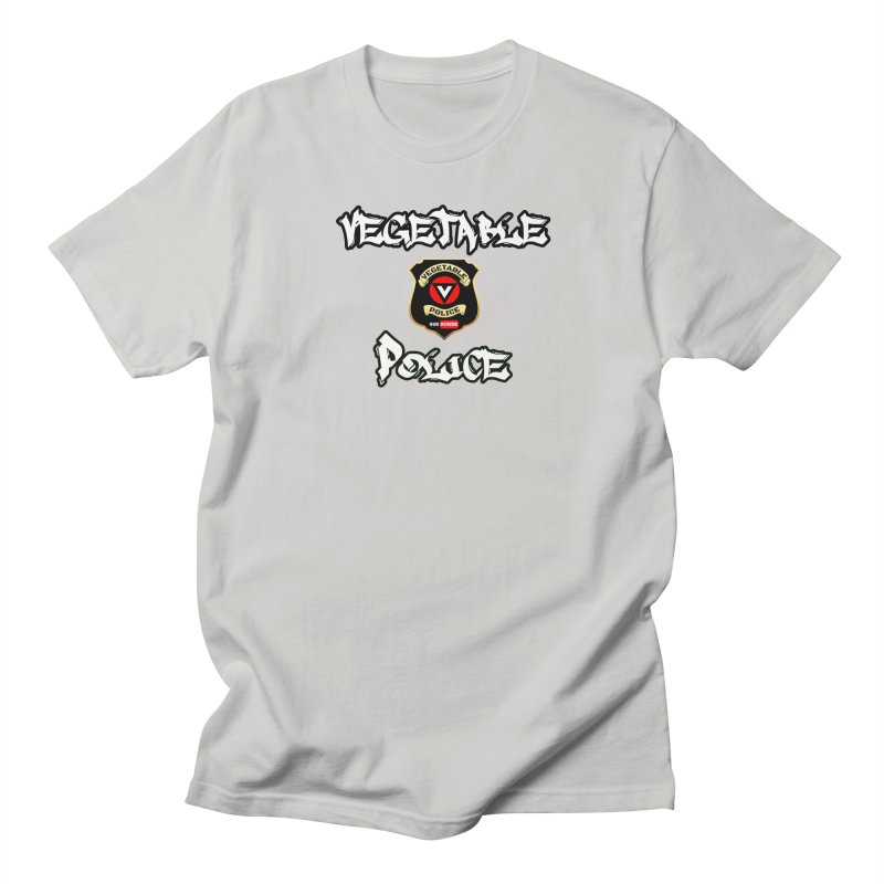 Vegetable Police Undercover (white) Women's T-Shirt by Vegetable Conspiracies