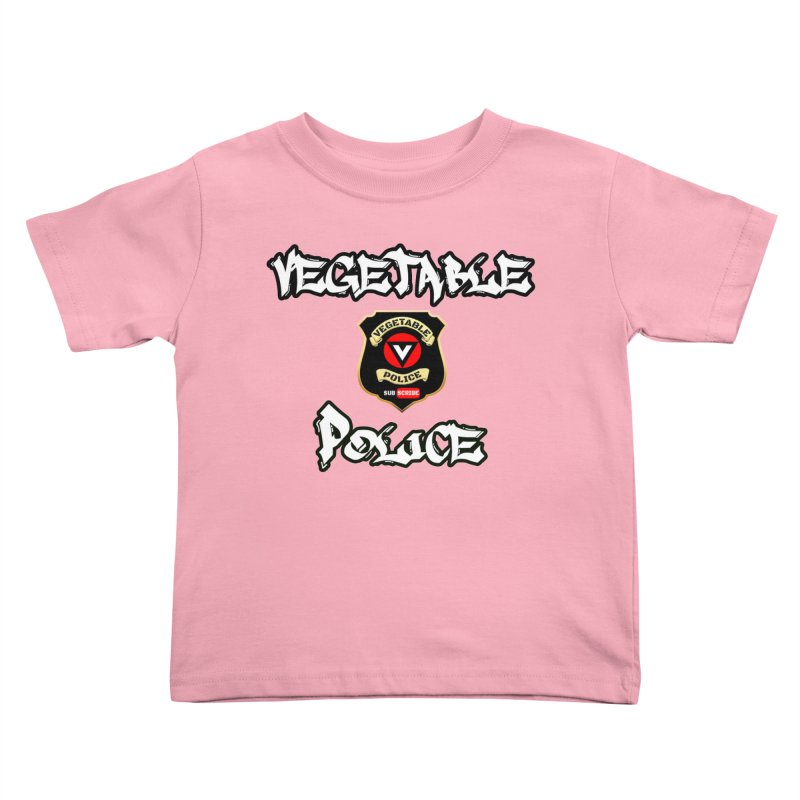 Vegetable Police Undercover (white) Kids  by Vegetable Police