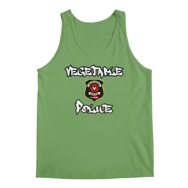 Vegetable Police Undercover (white) Men's Tank by Vegetable Conspiracies