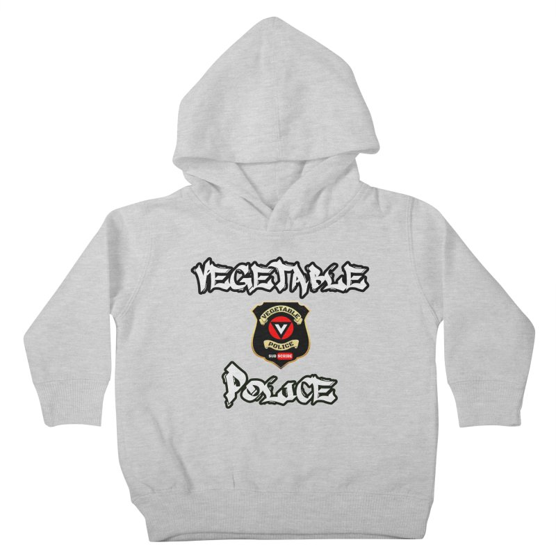 Vegetable Police Undercover (white) Kids Toddler Pullover Hoody by Vegetable Conspiracies