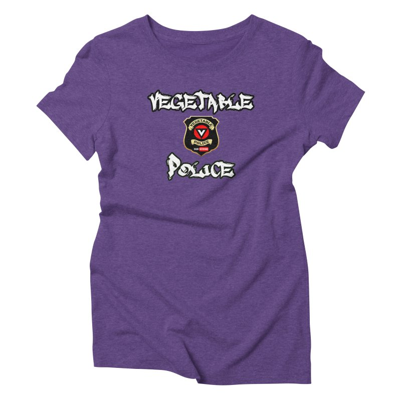 Vegetable Police Undercover (white) Women's T-Shirt by Vegetable Police
