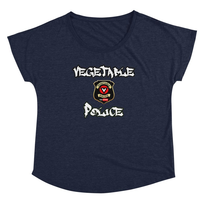 Vegetable Police Undercover (white) Women's Scoop Neck by Vegetable Police