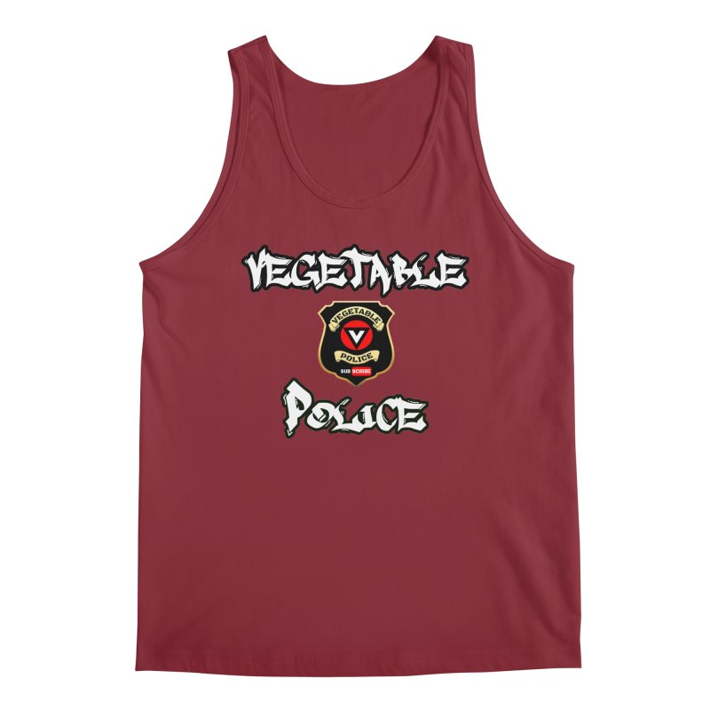 Vegetable Police Undercover (white) Men's Tank by Vegetable Police