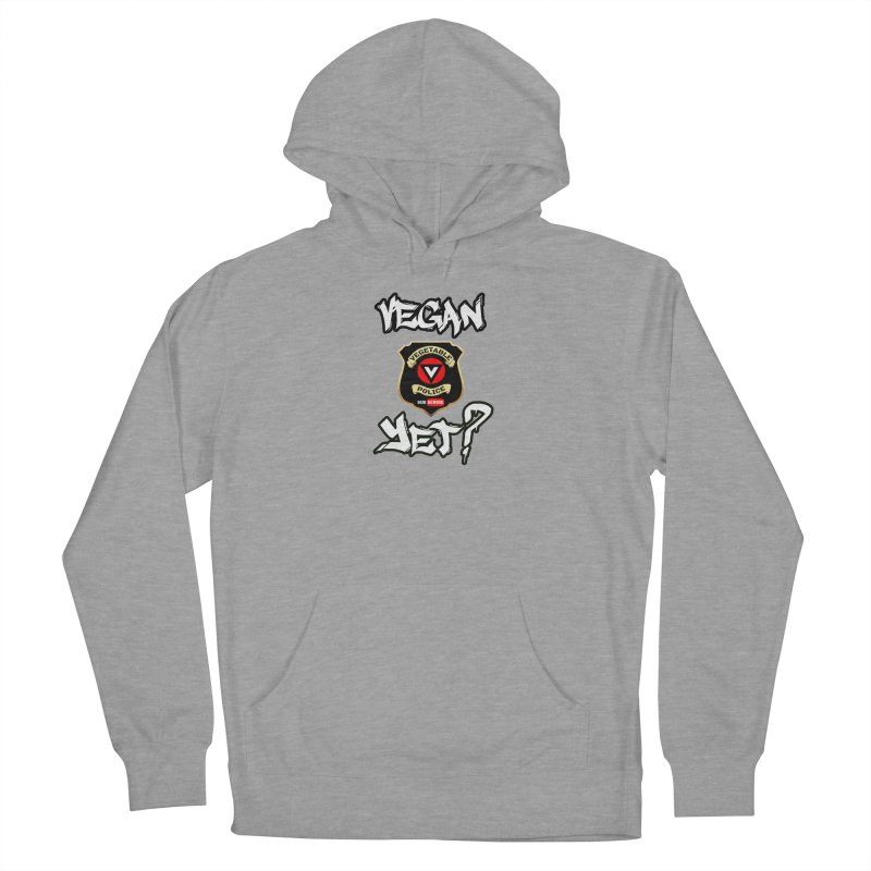 Vegan Yet? Women's Pullover Hoody by Vegetable Police