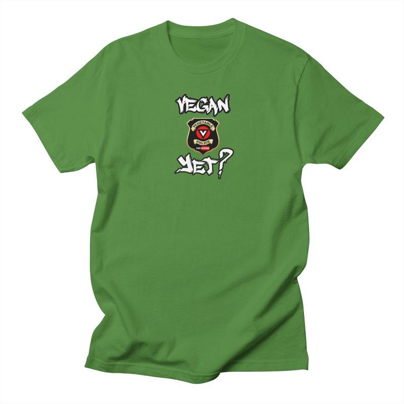 Vegan Yet? Women's T-Shirt by Vegetable Police