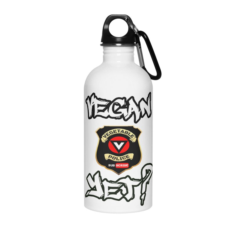 Vegan Yet? Accessories Water Bottle by Vegetable Police