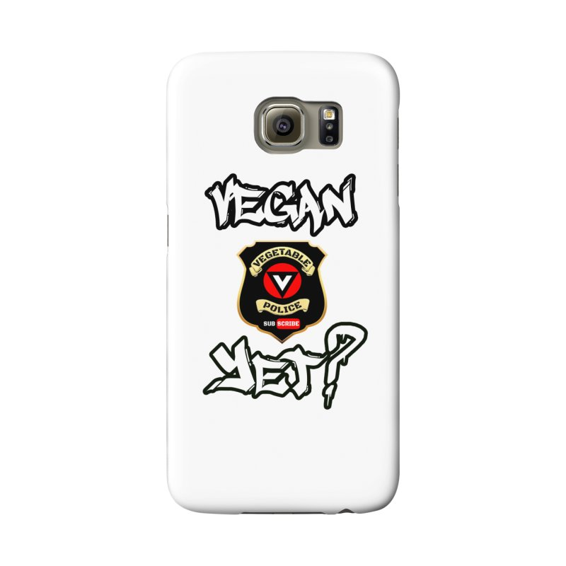 Vegan Yet? Accessories Phone Case by Vegetable Police