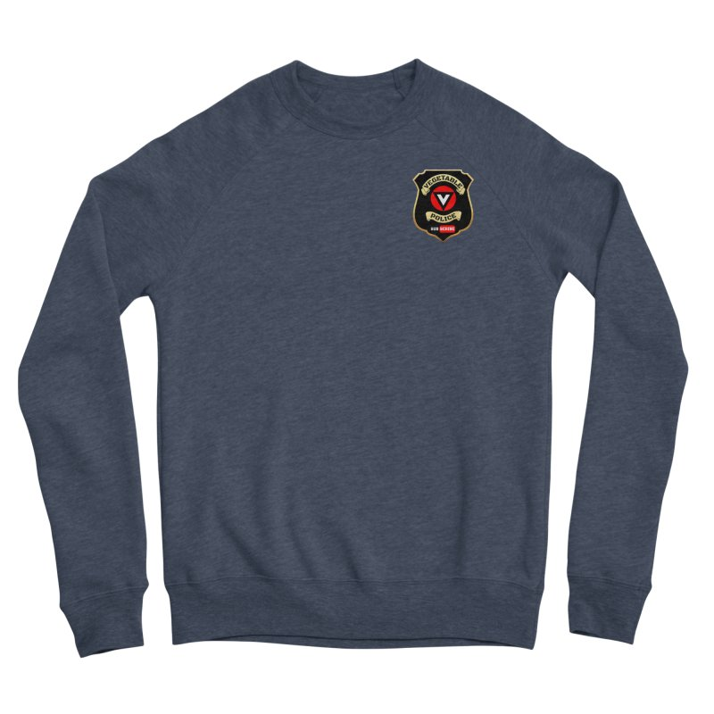 Vegetable Police (just badge) Women's Sweatshirt by Vegetable Police