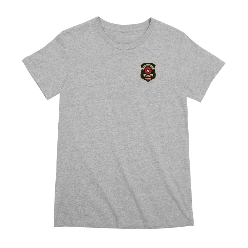 Vegetable Police (just badge) Women's Premium T-Shirt by Vegetable Police