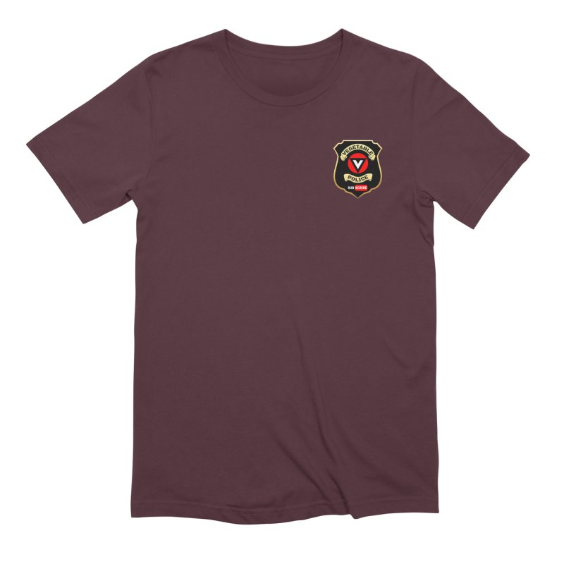 Vegetable Police (just badge) Men's T-Shirt by Vegetable Police