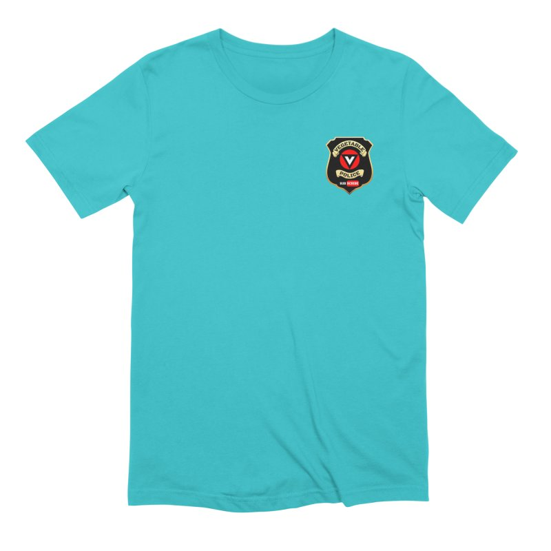 Vegetable Police (just badge) Men's Extra Soft T-Shirt by Vegetable Police