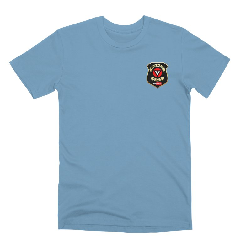 Vegetable Police (just badge) Men's Premium T-Shirt by Vegetable Police