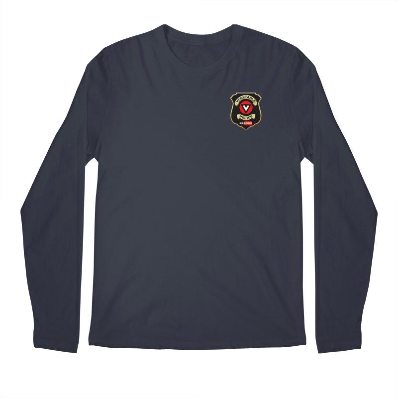 Vegetable Police (just badge) Men's Longsleeve T-Shirt by Vegetable Police