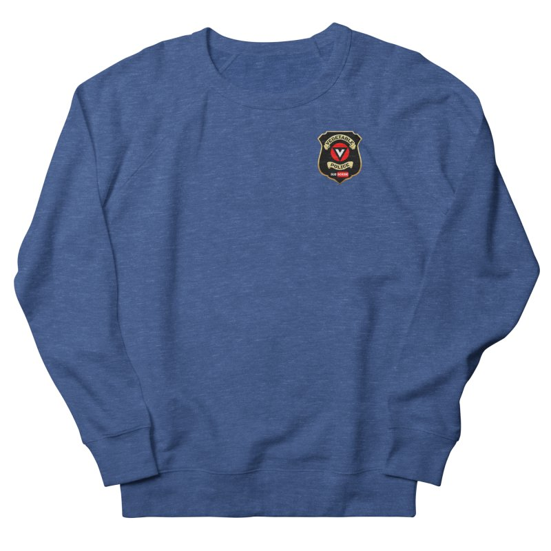 Vegetable Police (just badge) Men's Sweatshirt by Vegetable Police