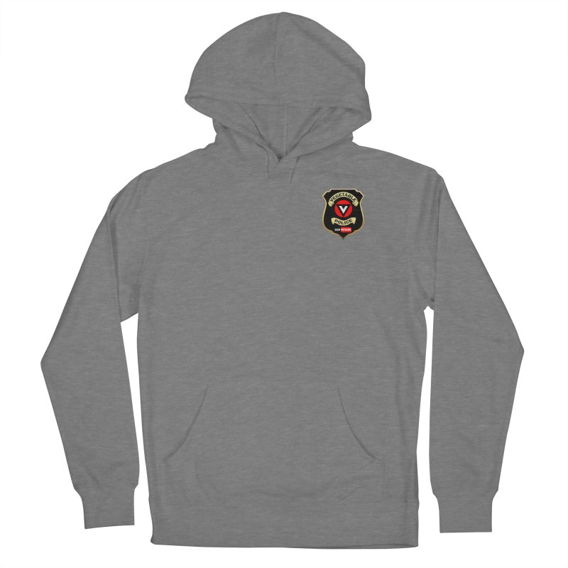 Vegetable Police (just badge) Women's Pullover Hoody by Vegetable Police