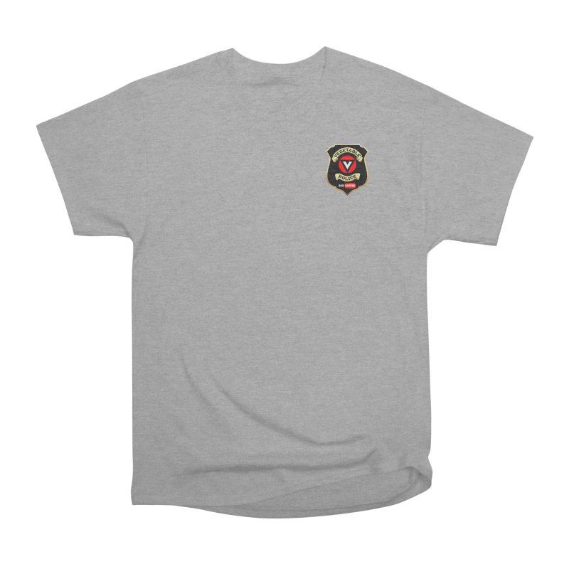 Vegetable Police (just badge) Women's Heavyweight Unisex T-Shirt by Vegetable Police