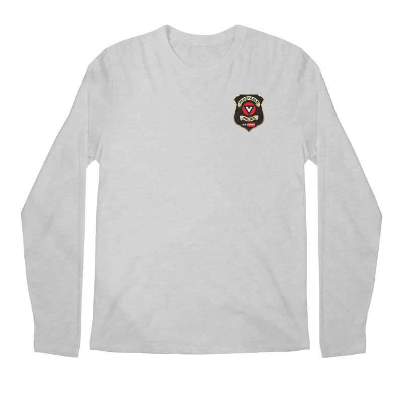 Vegetable Police (just badge) Men's Longsleeve T-Shirt by Vegetable Conspiracies
