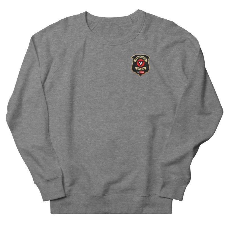 Vegetable Police (just badge) Men's Sweatshirt by Vegetable Conspiracies