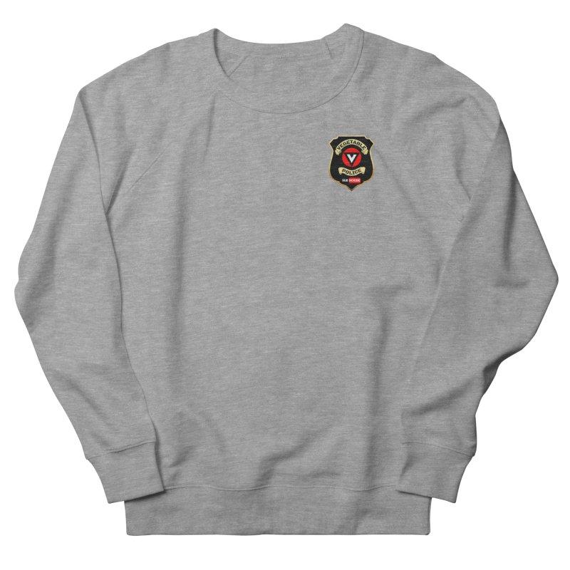 Vegetable Police (just badge) Men's Sweatshirt by Vegetable Police