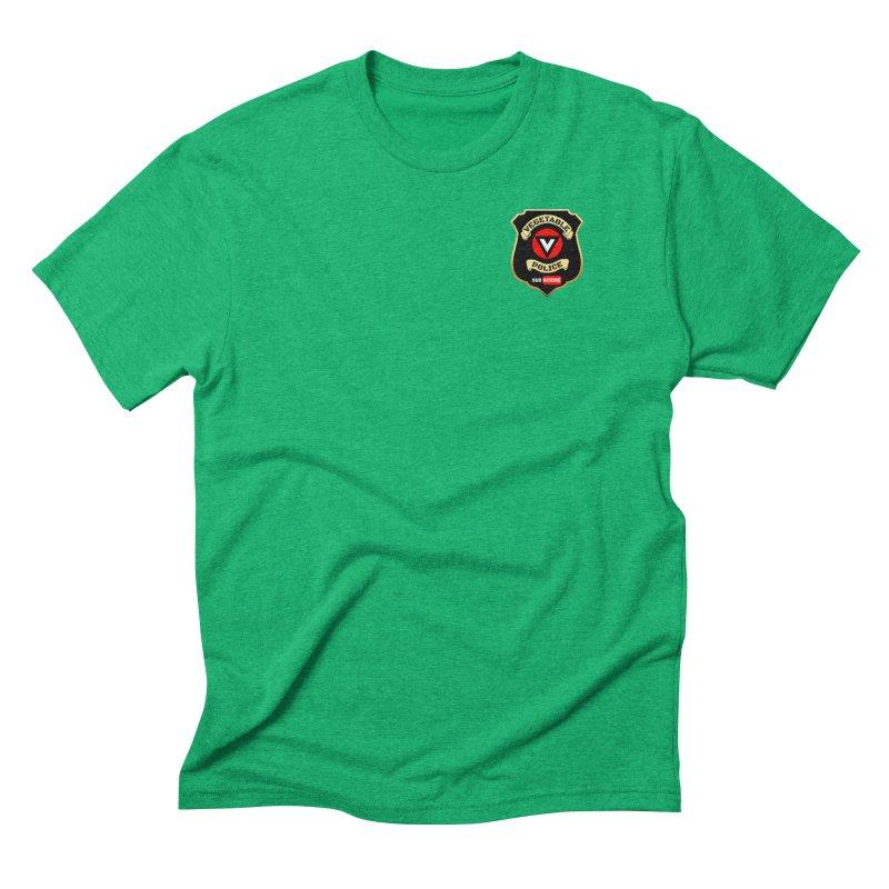 Vegetable Police (just badge)  Men's Triblend T-Shirt by Vegetable Police