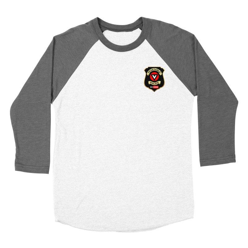 Vegetable Police (just badge) Men's Baseball Triblend Longsleeve T-Shirt by Vegetable Police
