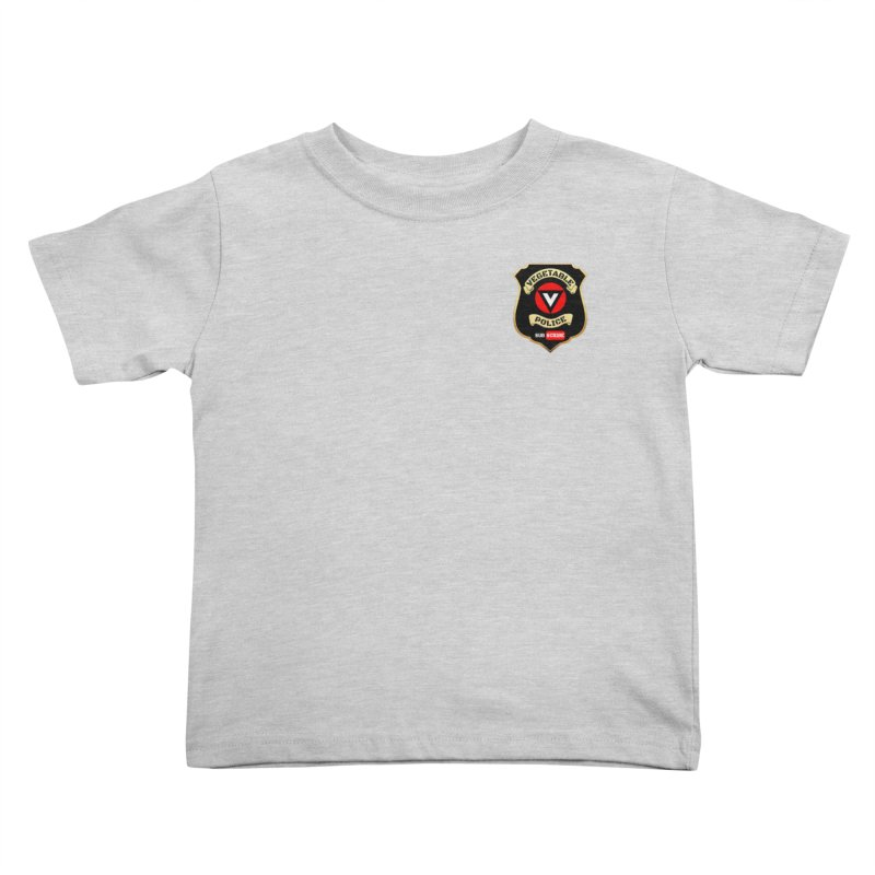 Vegetable Police (just badge) Kids Toddler T-Shirt by Vegetable Police