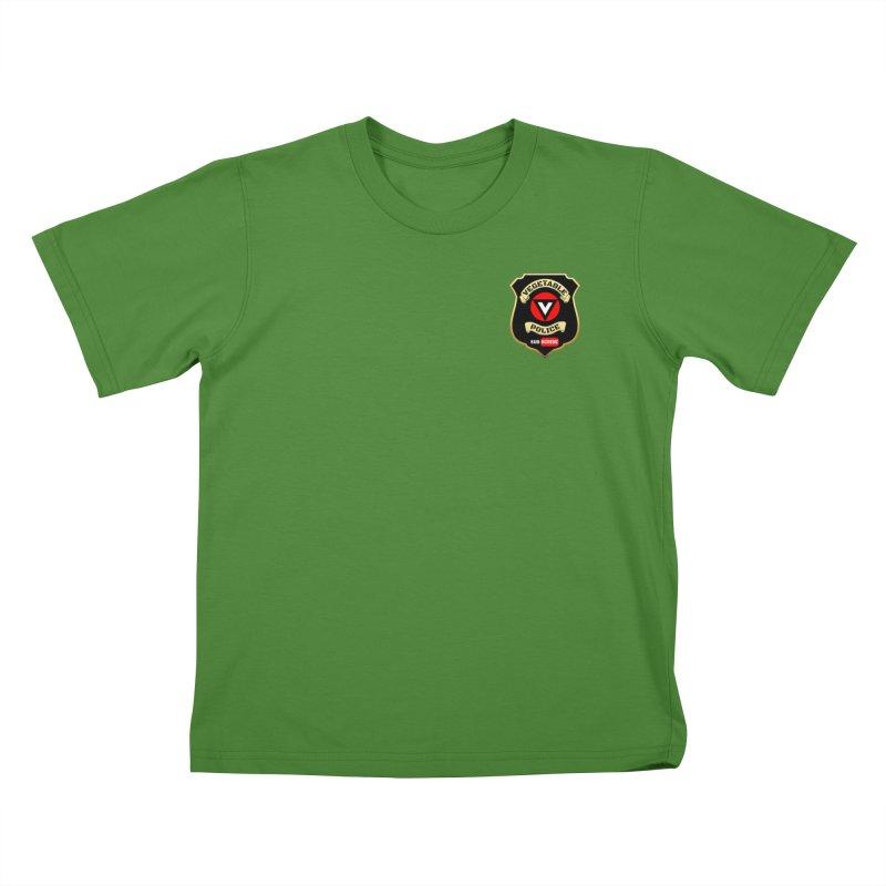 Vegetable Police (just badge)  Kids T-Shirt by Vegetable Police