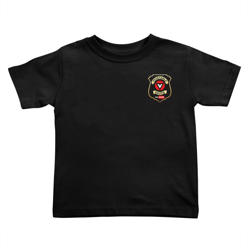 Vegetable Police (just badge) Kids Toddler T-Shirt by Vegetable Police