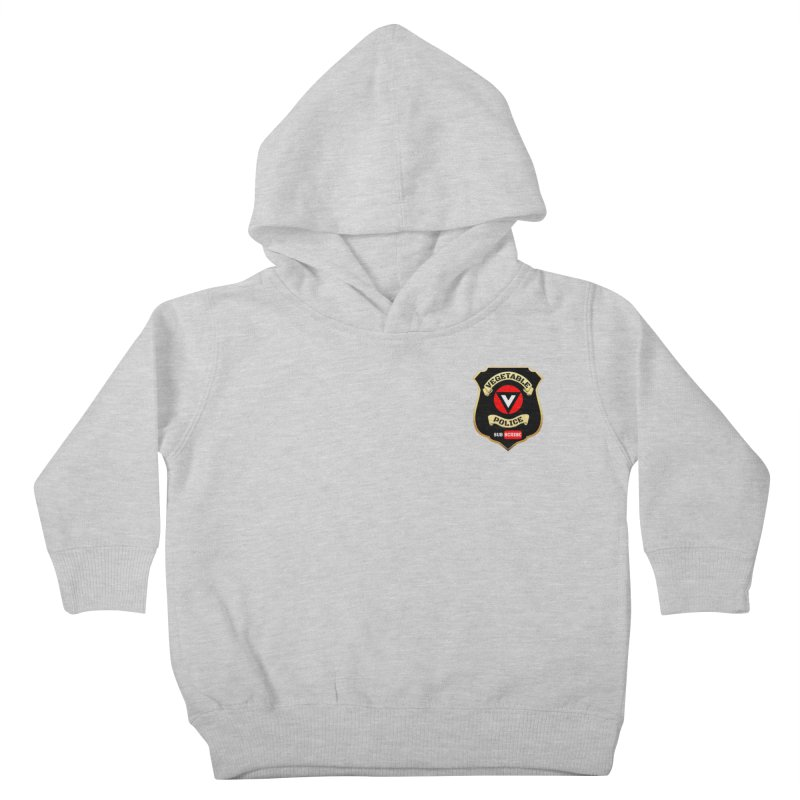 Vegetable Police (just badge) Kids Toddler Pullover Hoody by Vegetable Police